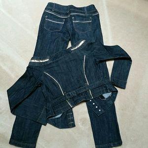 Boom Boom Jeans Jeans - Jeans Outfit , jeans sz 1, jacket sz s